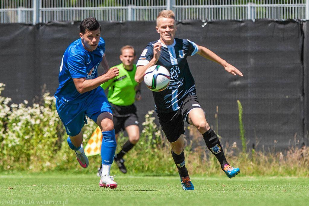 Lech Poznań pokonał w sparingu Stomil Olsztyn 3:0. Darko Jevtić