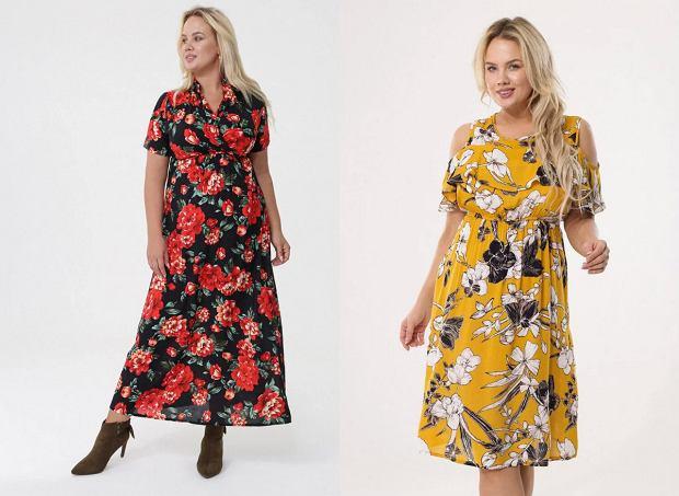 Sukienki letnie dla puszystych