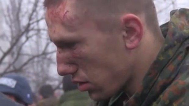 Screen z filmu przedstawiającego sytuację na Ukrainie