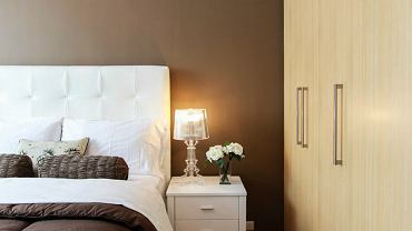Sypialnia - lampki