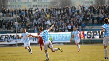 Stomil objął prowadzenie 1:0 po bramce Pawła Piceluka