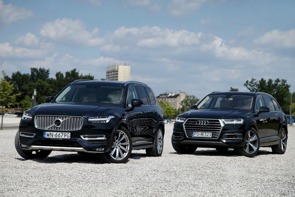 Audi Q7 vs. Volvo XC90 2.0 D5