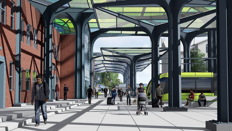 Projekt Zintegrowanego Centrum Podróży, które powstanie w Gorzowie