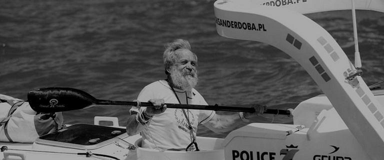 """Aleksander Doba nie żyje. Miał 74 lata. """"Zmarł śmiercią podróżnika"""""""
