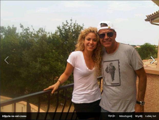 Shakira, ojciec Pique