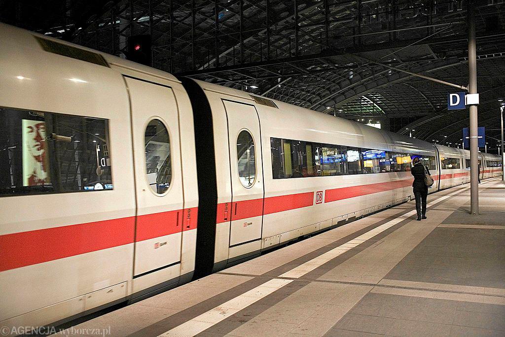 Dworzec Hauptbahnhof w Berllinie