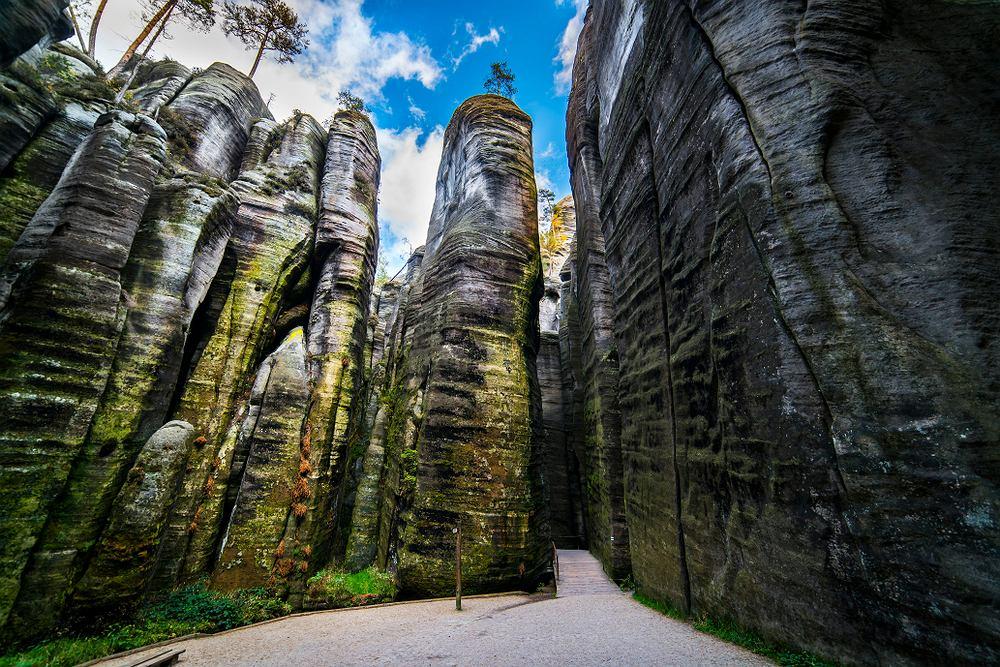 Skalne miasta w Czechach to jedne z największych przygranicznych atrakcji