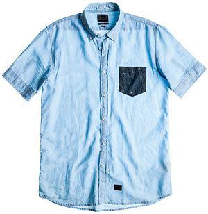 Styl: co nosimy tego lata, styl, moda męska, Z kolekcji Quiksilver koszula - cena: 239 zł, koszule męskie