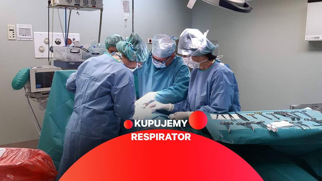Respirator przyda się zawsze! Szpital w Suchej Beskidzkiej przygotowuje się na uderzenie koronawirusa