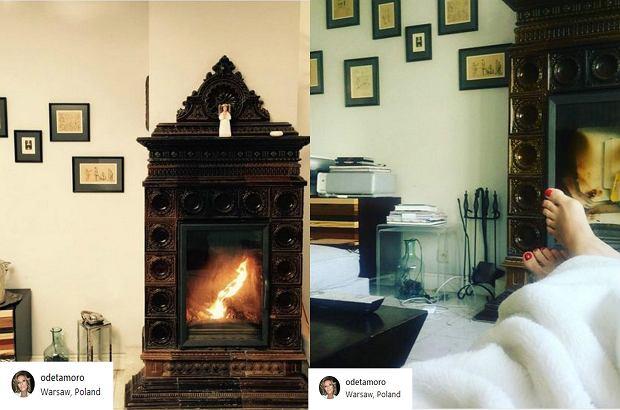Zdjęcie numer 5 w galerii - Odeta Moro pokazała dom. Jest pełen oryginalnych i wiekowych dodatków.  Nigdy nie zgadniecie, co postawiła w łazience