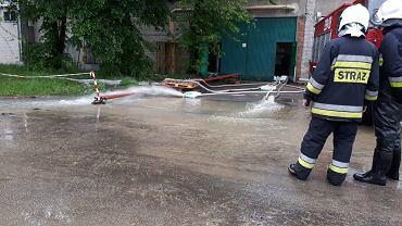 Alarm powodziowy w Bielsku-Białej