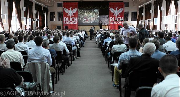 I Kongres Ruchu Narodowego w Warszawie, czerwiec 2013