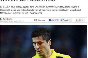 "Bundesliga. ""Daily Express"": Chelsea rezygnuje z Falcao. Celem numer 1 Lewandowski"