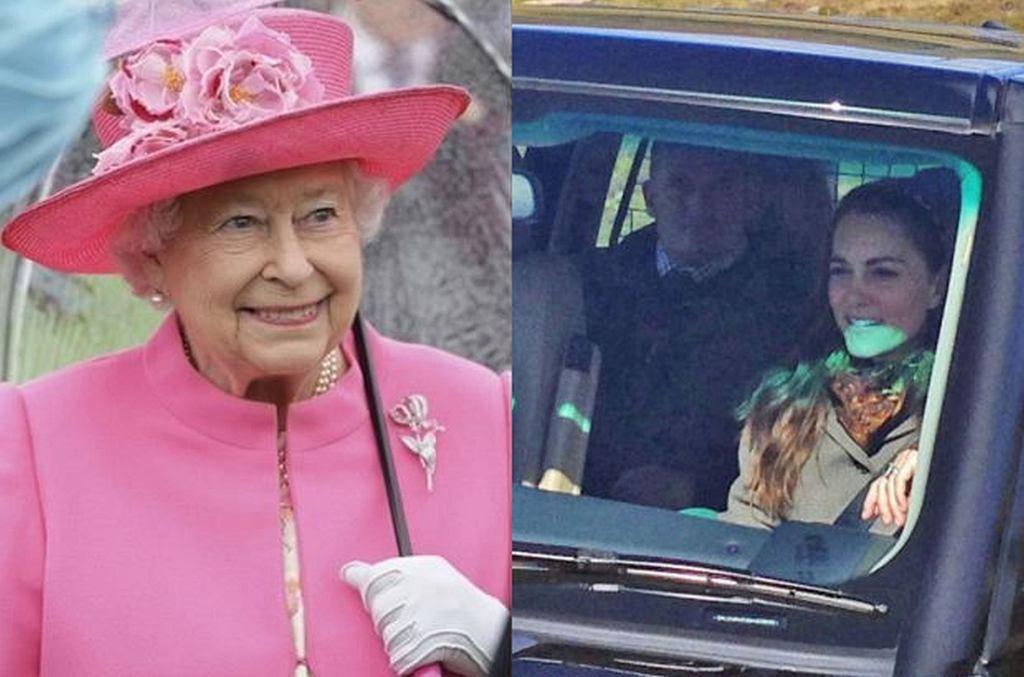 Królowa Elżbieta, księżna Kate