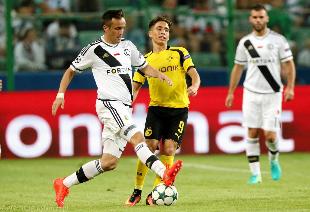 Mecz Legia Warszawa-Borussia Dortmund