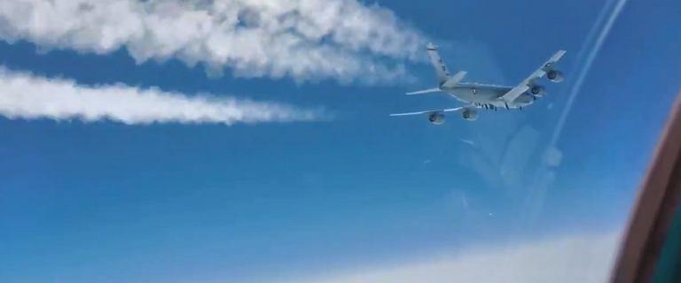 Rosja. MiG-31 przechwycił samolot zwiadowczy USA [WIDEO]