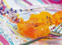 Smażone brzoskwinie z lawendą - ugotuj