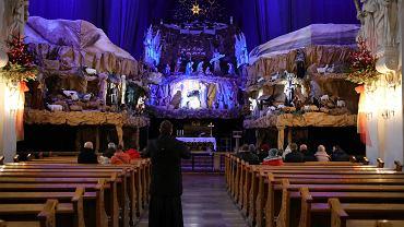 Żłóbek w kościele ojców Franciszkanów na pl. Bernardyńskim w Poznaniu