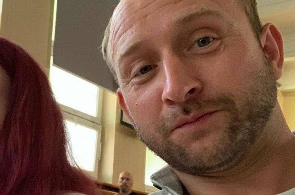 Borys Szyc z córką