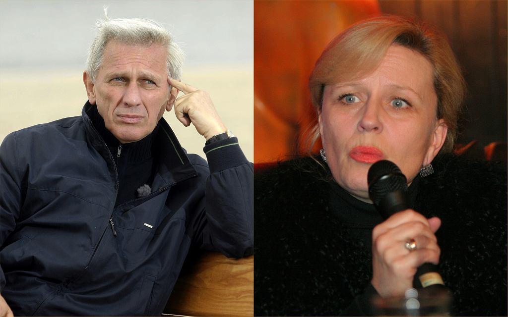 Krystyna Janda i Jan Englert