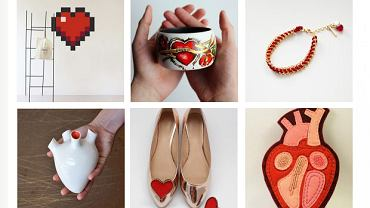Walentynki handmade