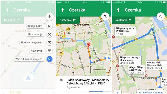 Jesteś kierowcą? Pokochasz nowe funkcje Google Maps