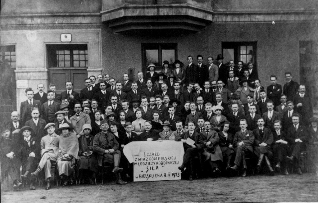 Uczestnicy spotkania 'Siły' w Bielsku