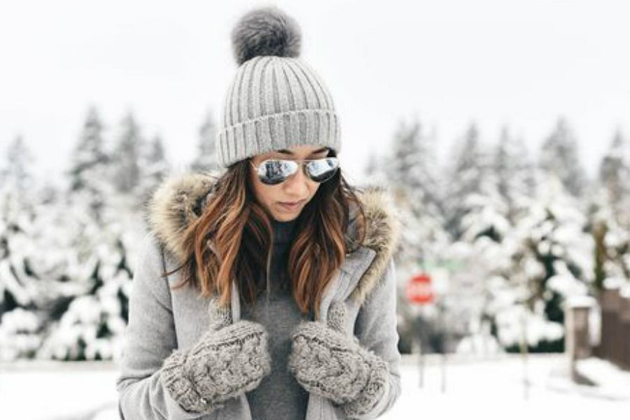strój na zimę