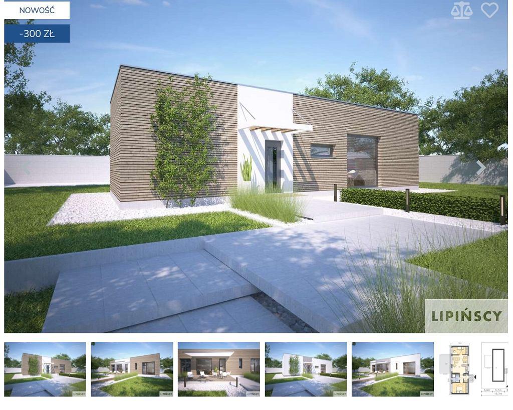 Dom o powierzchni 65 mwk