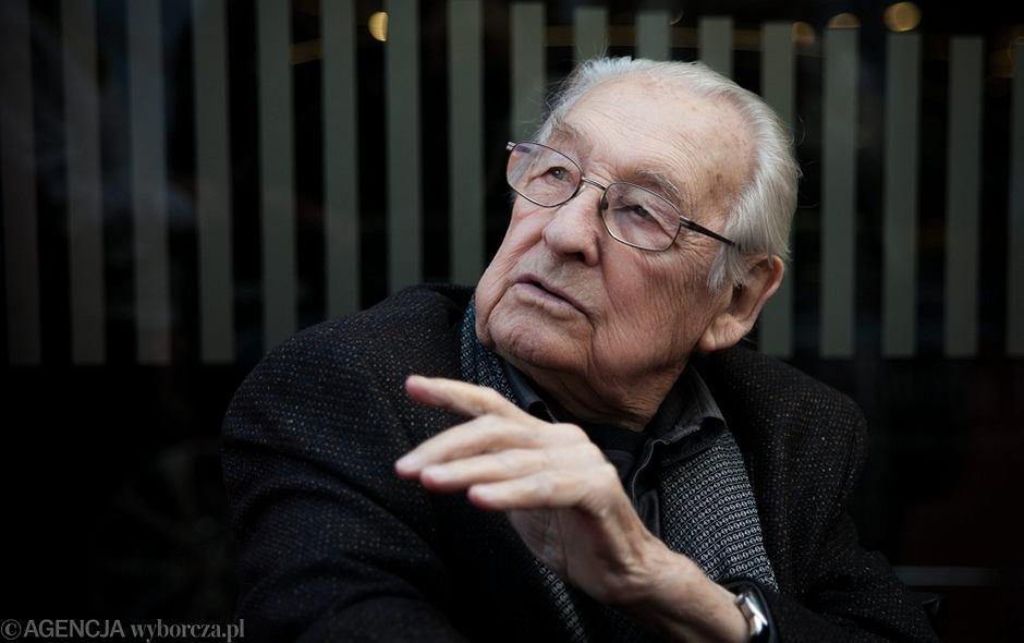 Andrzej Wajda na 41. Festiwalu Filmowym w Gdyni, wrzesień 2016