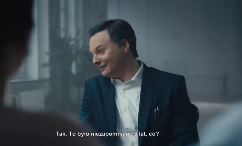 Kadr ze spotu sztabu kandydata KO Rafała Trzaskowskiego