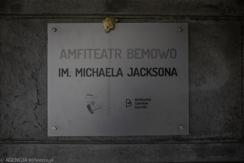 Amfiteatr im. Michaela Jacksona w Warszawie. Władze dzielnicy zmieniły nazwę