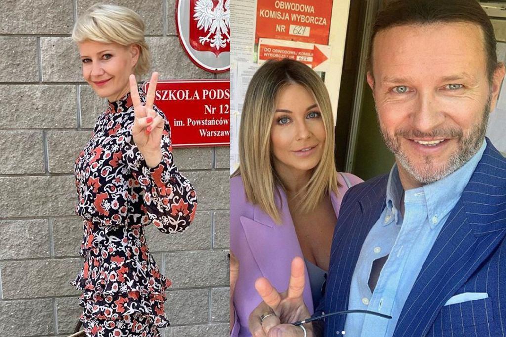 gwiazdy głosują w wyborach prezydenckich