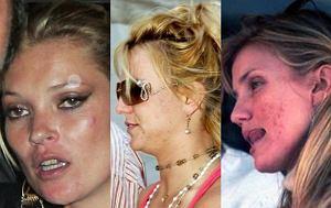 Kate Moss, Cameron Diaz, Britney Spears
