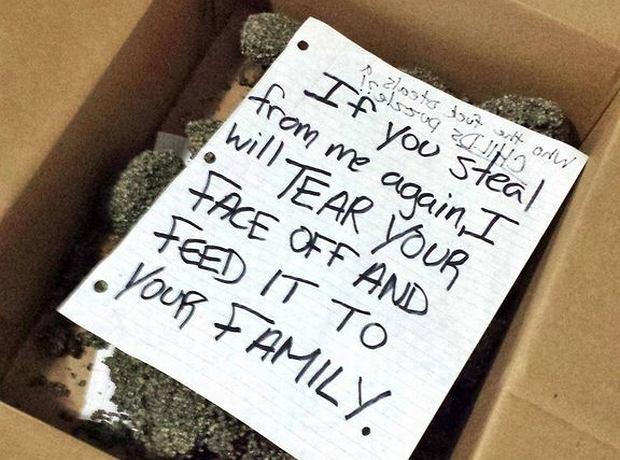 Notatka dla złodzieja