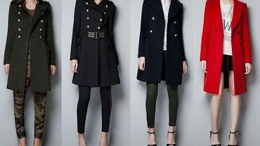 Dwurzędowe płaszcze