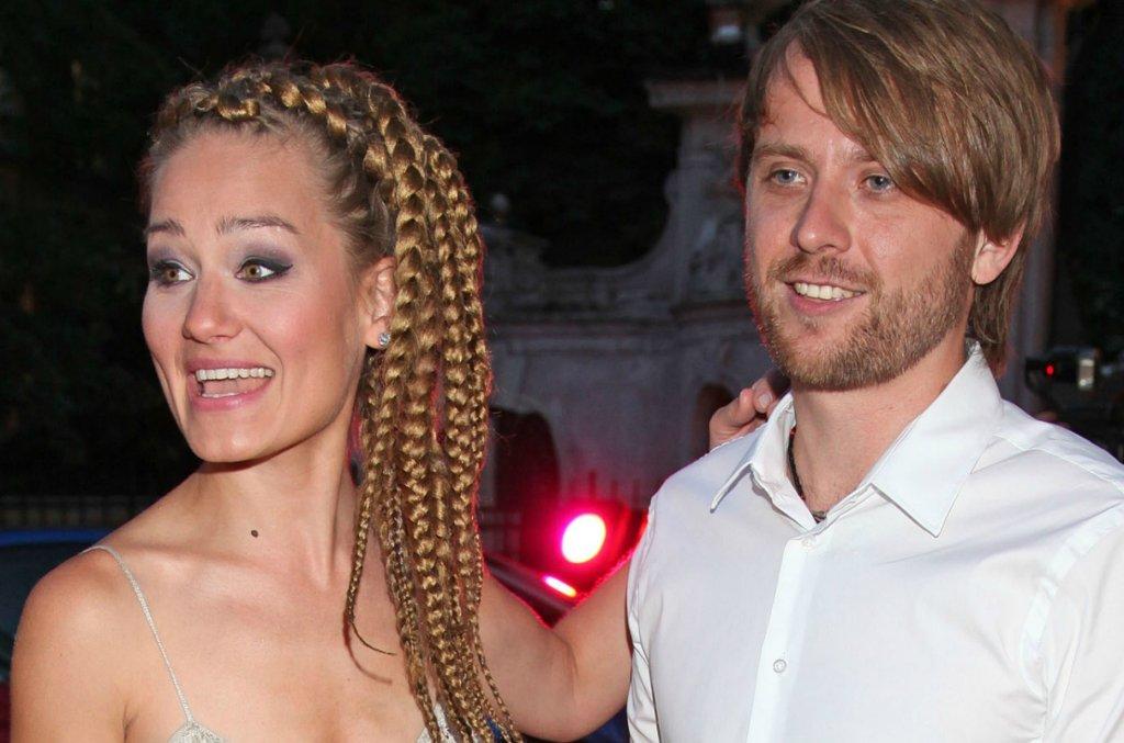 Marika z mężem