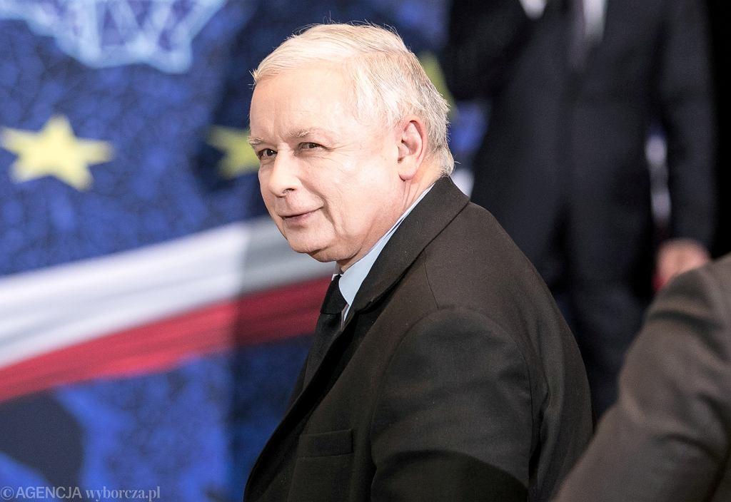 07.05.2019 Jarosław Kaczyński podczas spotkania wyborczego z mieszkańcami Lublina.