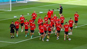 Trening reprezentacji Polski na stadionie w Gdańsku, 10 czerwca 2021 r.