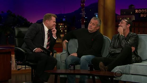 Matt Le Blanc w The Late Late Show with James Corden