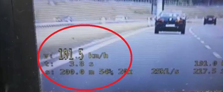 Pędził 191 km/h, o 70 km/h za szybko. Złapali go policjanci grupy
