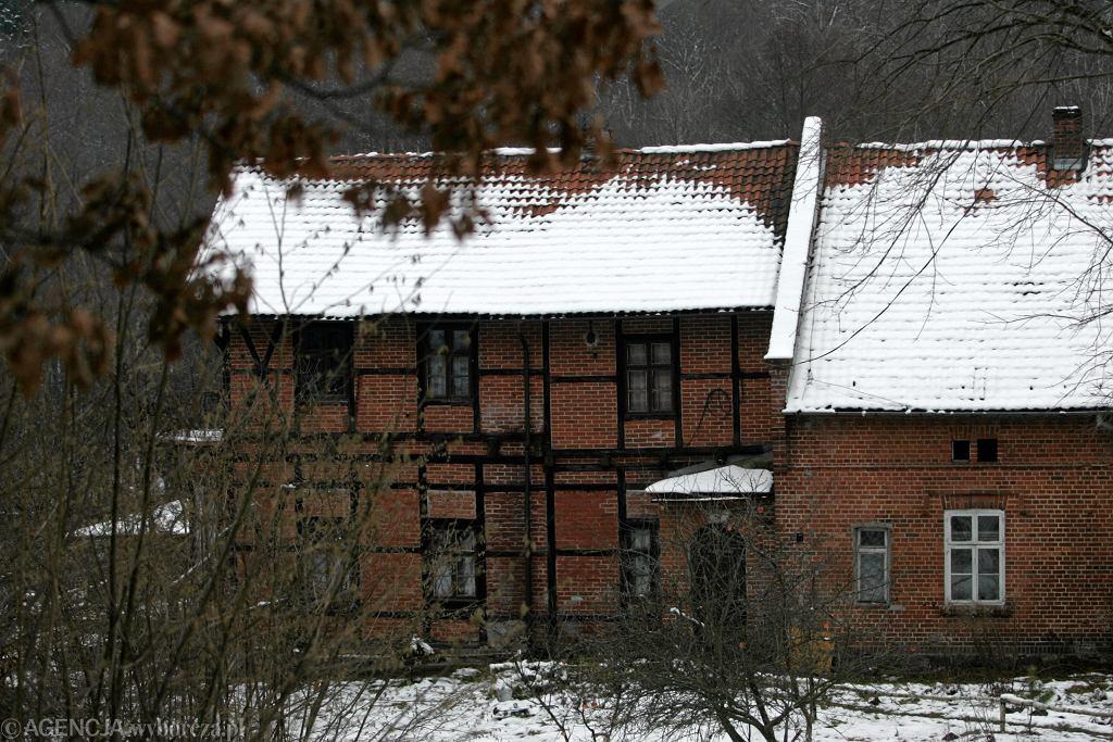 Leśniczówka Jacka Kurskiego w Danielinie. Zdjęcie z 2005 roku.