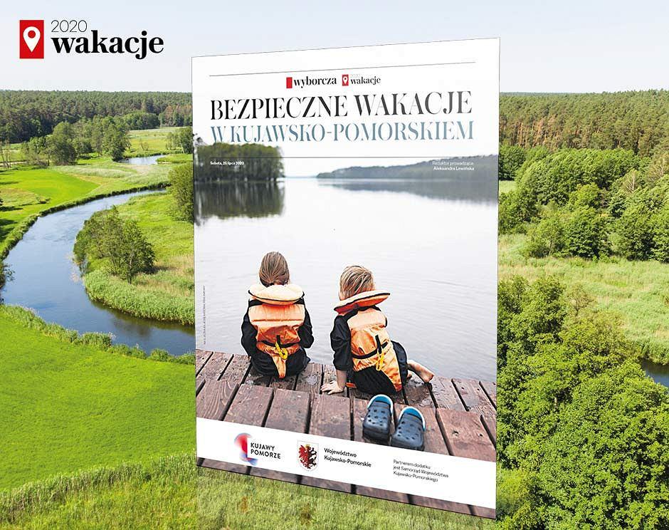 'Bezpieczne wakacje w Kujawsko - Pomorskiem' w sobotę 25 lipca w 'Wyborczej'