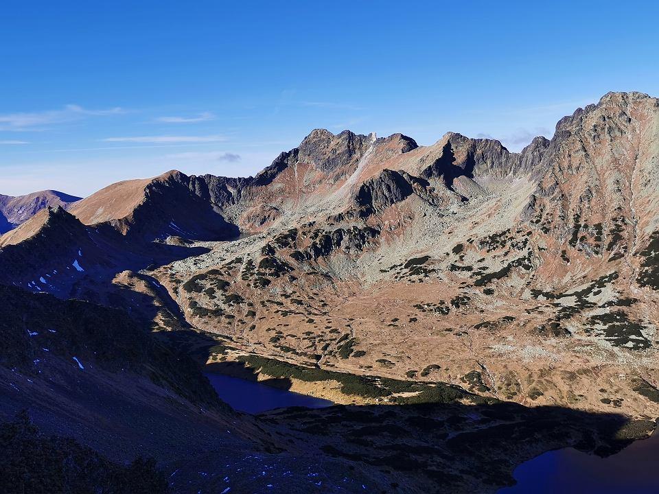 Widok z okolic Szpiglasowej Przełęczy