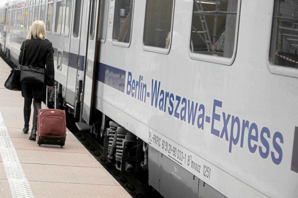 Pociąg relacji Berlin-Warszawa