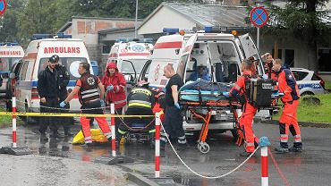 Tatry . Akcja ratunkowa po potężnej burzy