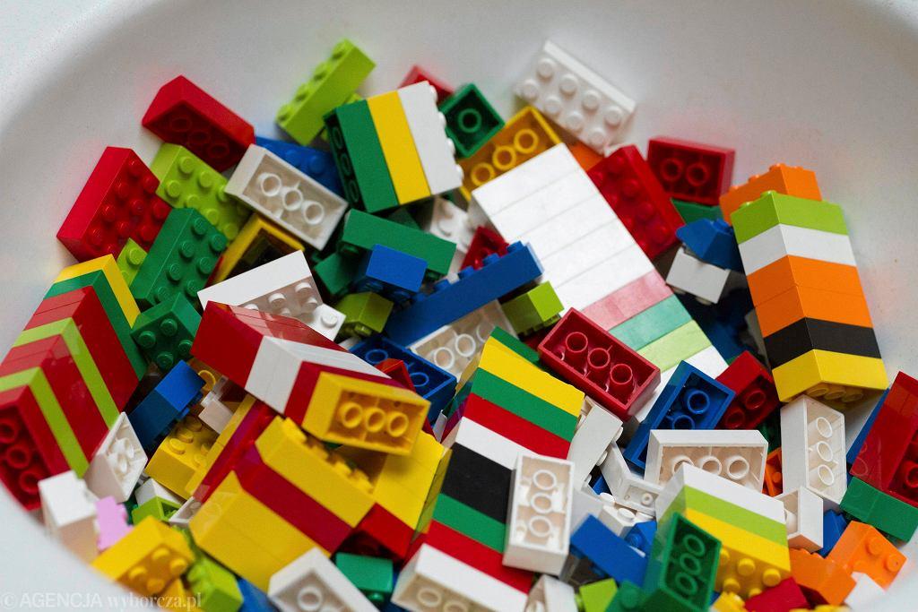 Klocki LEGO - zdjęcie ilustracyjne