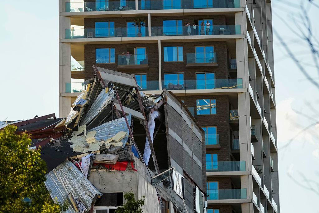 Belgia. Katastrofa budowlana w Antwerpii. Zawalił się budynek szkoły