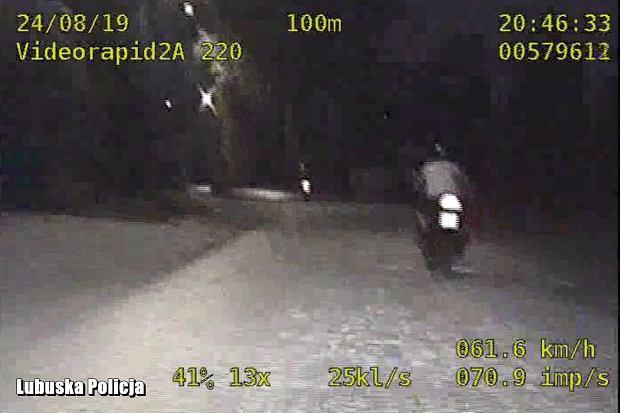 Szalona ucieczka motocyklistów. Blisko 200 km/h i łamane przepisy