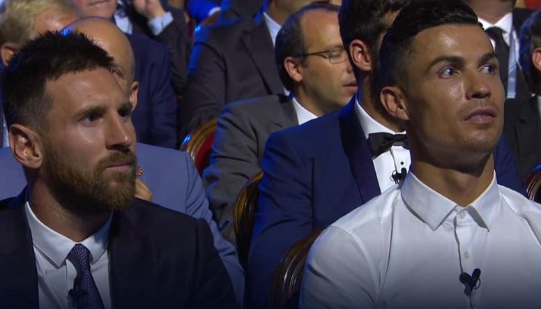Messi, Ronaldo na ceremonii